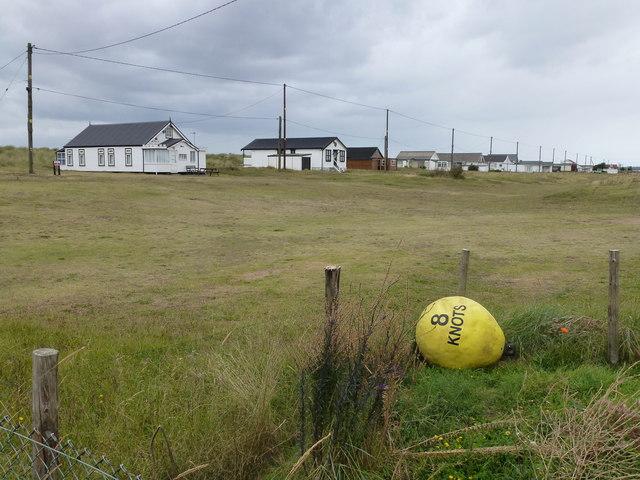 One yellow buoy - 8 KNOTS