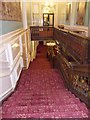 SK4003 : Bosworth Hall - looking down Staircase by Betty Longbottom