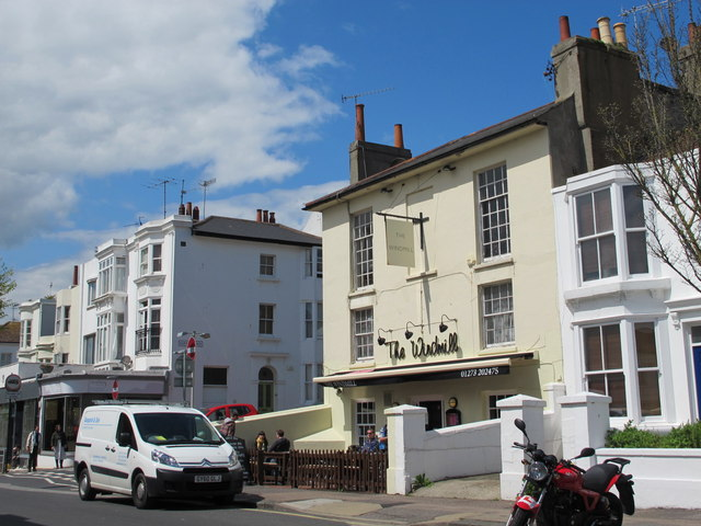 Upper North Street / Clifton Place, BN1