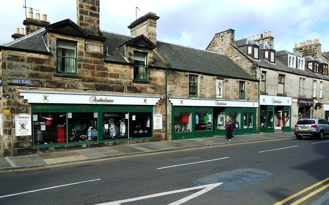 Golfing Shop in St Andrews