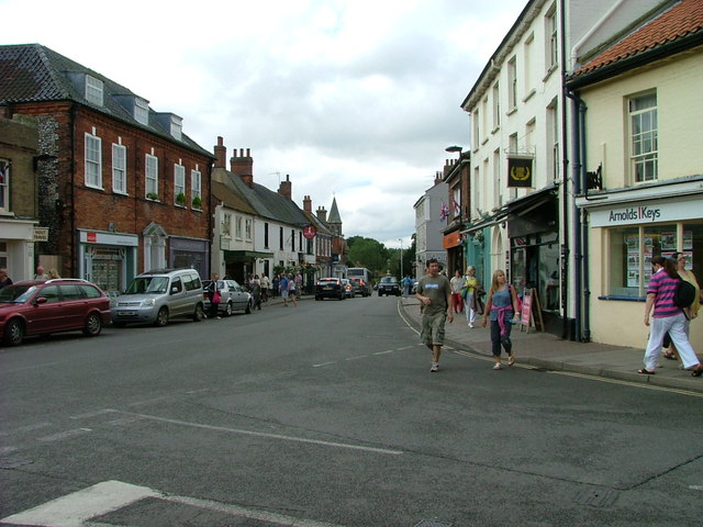 Junction of Market Place and High Street, Holt