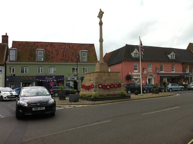 War Memorial, Holt