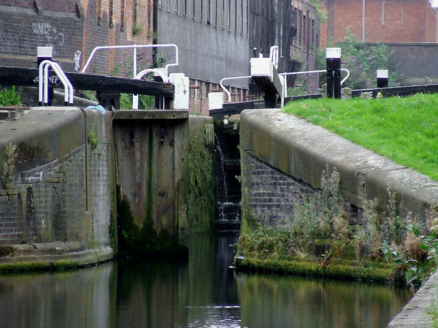 Garrison Locks No 63 near Saltley, Birmingham
