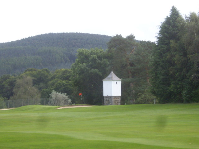 Tower on Bachory Golf Course