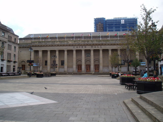 City Square and Caird Hall