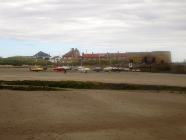 Boats on the beach, Beadnell