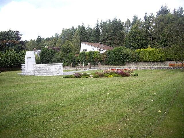 War Memorial Garden, Banchory
