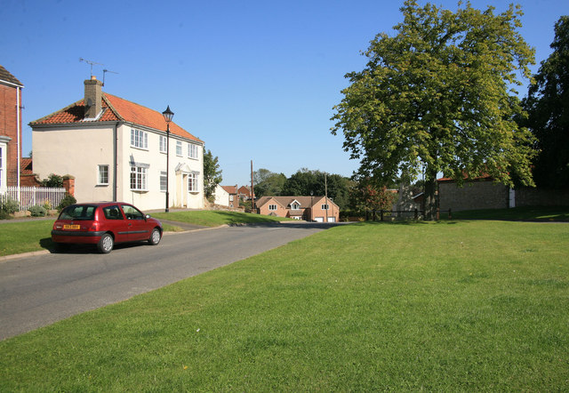 Scotter Village green