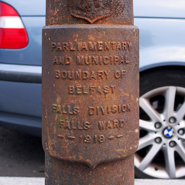 Boundary Post, Belfast