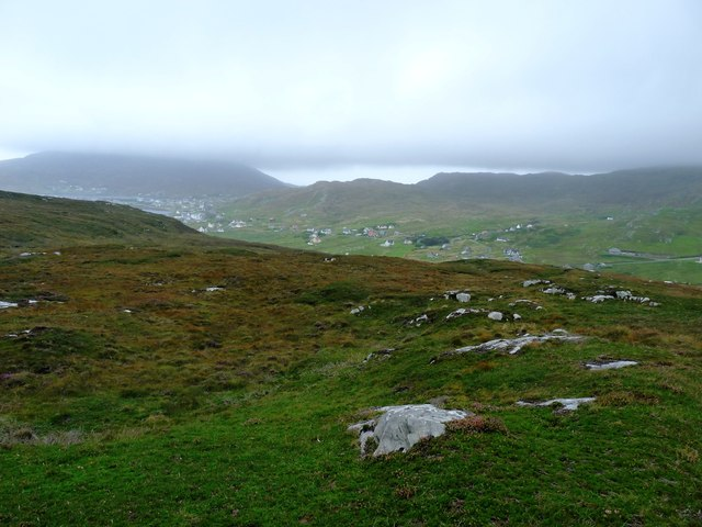 Rough hill ground east of Castlebay