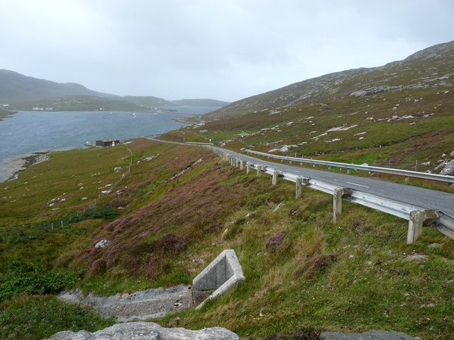 The road to Vatersay