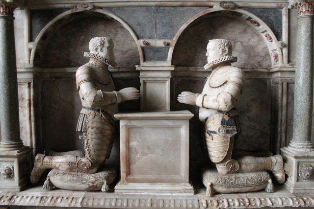 Two Brothers, Manners Memorial, Uffington church