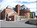 SP2054 : Old part of the Royal Shakespeare Theatre - Waterside by Betty Longbottom