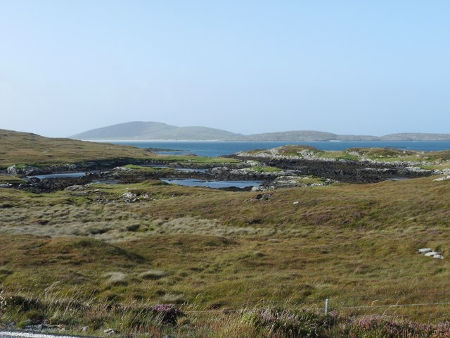 Rough north shore of Aird Mhòr