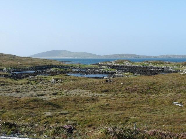 Rough north shore of Aird Mhòr