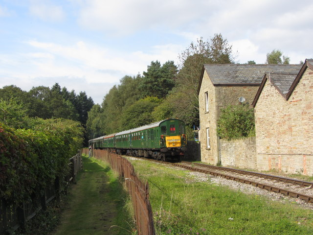 Dean Forest Railway in Whitecroft