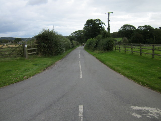 Hall Lane near Duckington