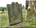 J4493 : &quot;Loggan&quot; headstone, Templecorran, Ballycarry (1) by Albert Bridge