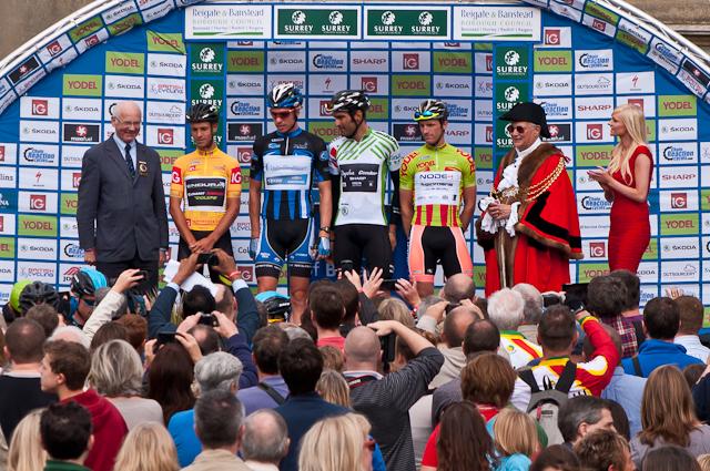2012 Tour of Britain stage 8 start - Priory Park