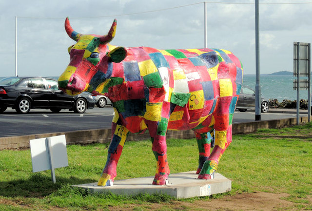 Cow parade, Jordanstown