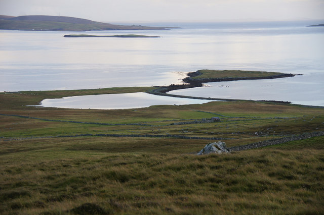 View to Heogland from Gallow Hill