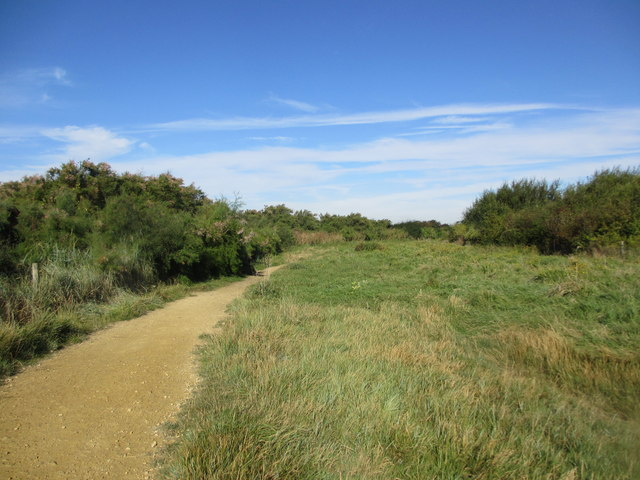 Path near Pagham Harbour