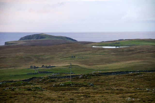 View to Blue Mull from Gallow Hill