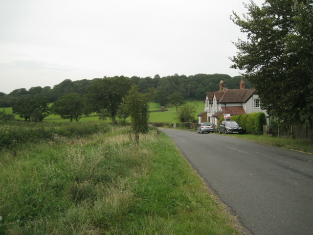 Chester's Green Cottages by the road to Outhill