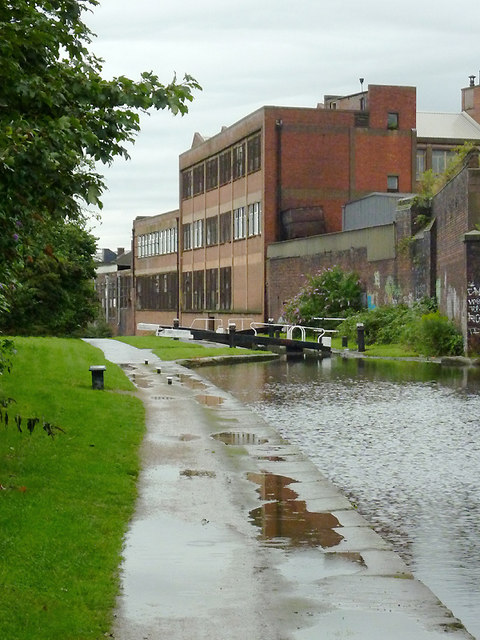 Grand Union Canal near Saltley, Birmingham