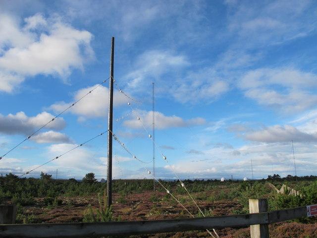 Communications Equipment at Former RAF Kinloss
