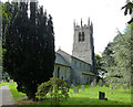 SK7452 : Rolleston, Holy Trinity Church  by Alan Murray-Rust