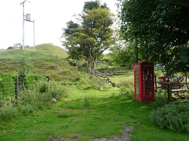 An out of the way telephone box, Trefil