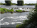 SK7753 : Averham weir  by Alan Murray-Rust