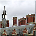 SK7755 : Kelham Hall roofscape  by Alan Murray-Rust