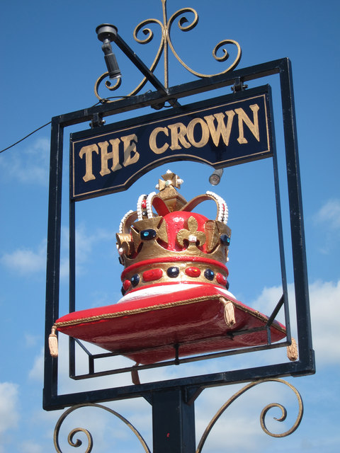 The Crown sign