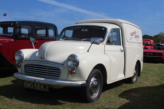 Morris Minor van, Laughton Show