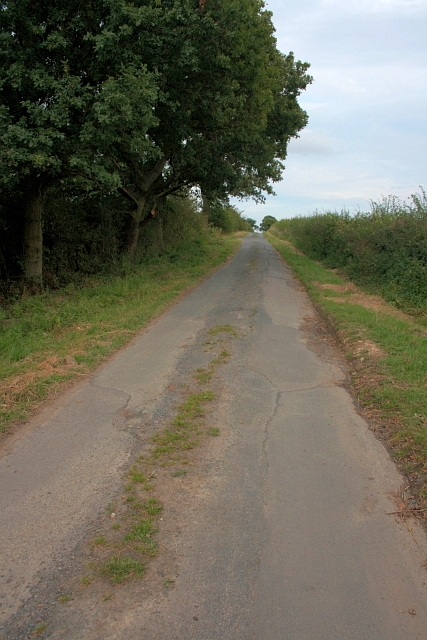 Road from Shaw Moor