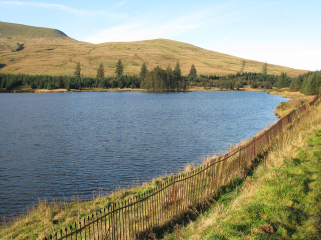 The Beacons Reservoir from the A470