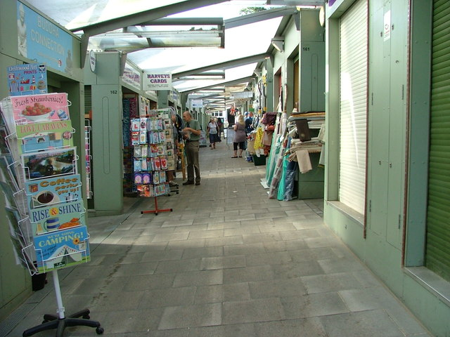 Retail units in Norwich Market
