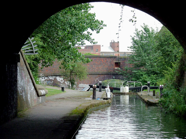 Garrison Locks No 60 near Bordesley, Birmingham
