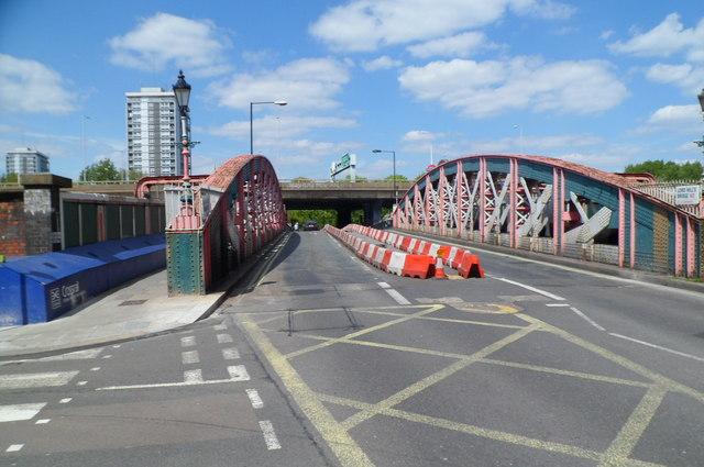 Across Lord Hills Bridge, London W2