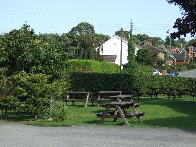 Beer garden, Marrowbone & Cleaver