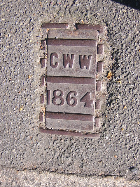 Croydon Waterworks cover, Church Road SE19