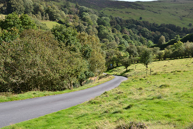 Lane to Gilfach farm