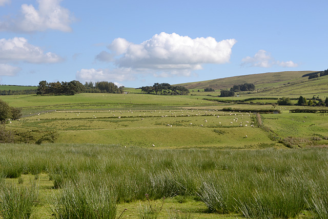 The upper Marteg valley