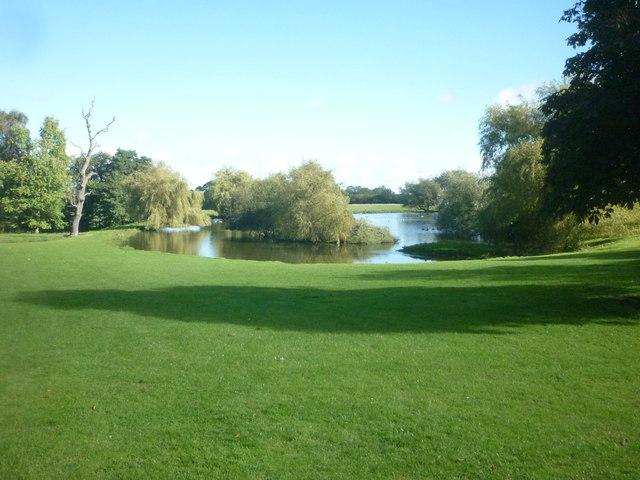 Lake at Braithwaite Hall