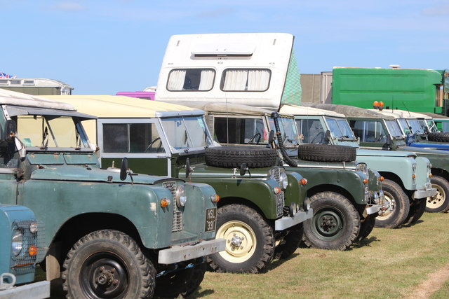 Land Rovers, Laughton Show
