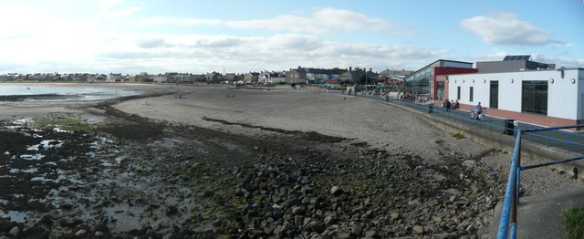 Panorama of Newbiggin Bay