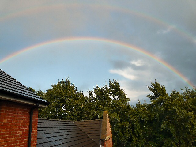 Double Rainbow over Hyde