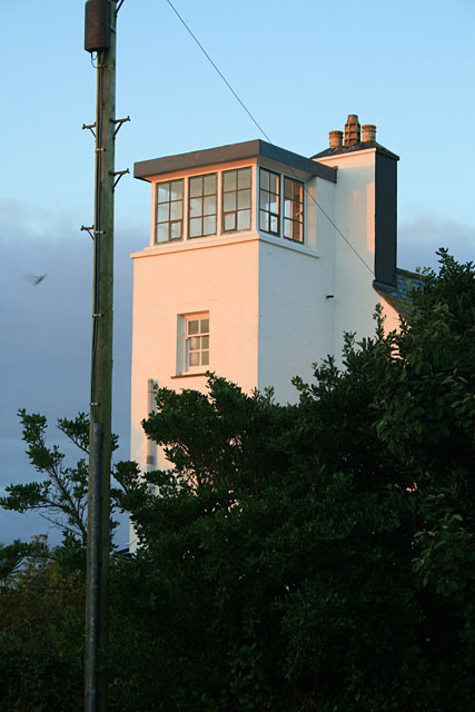 Coastguard tower